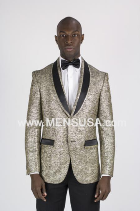 Button Black & Gold