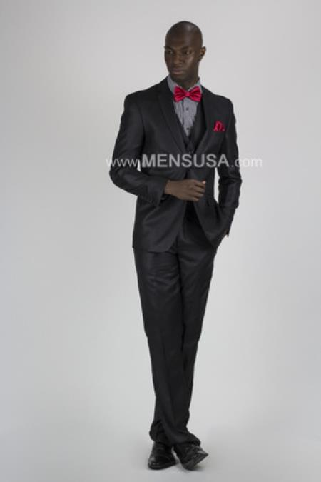 Button Suit Slim Fit