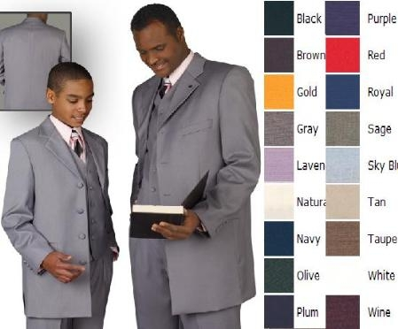 SKU# IA21 SKU#MUACFB5 FATHER AND SON MATCHING SUIT 3Pc. Compose suit just amazingly fabulous? $149