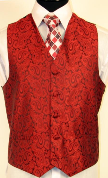 SKU#MT2579 RED VEST $75