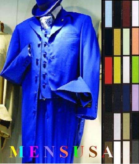 SKU# ACD575 3Pieces Vested Fashion Suits Comes In 12 Colors On Sale $149
