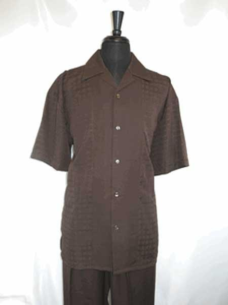 Buttons Chocolate Brown Single