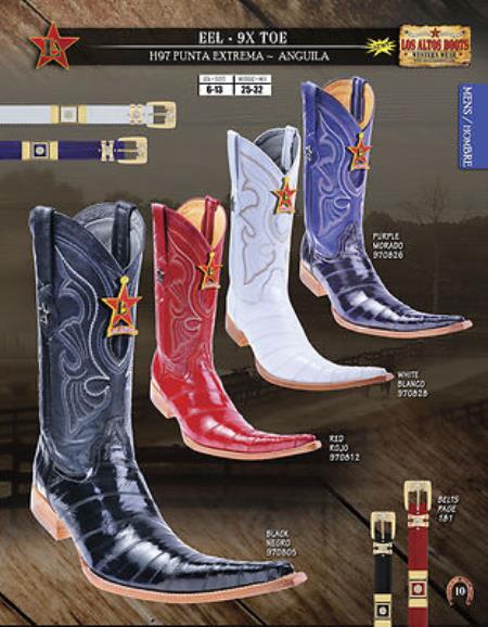 Altos botas tribaleras 9X