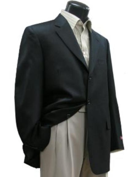 SKU# XIP118 BLACK BLAZER W/ CUSTOM BUTTON $99