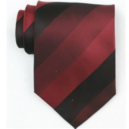 SKU#Sw456 AL   Silk Burgundy/wine Extra Long woven neckties $39