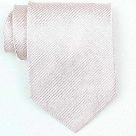 SKU#SW414A Silk Pink Woven Necktie $39