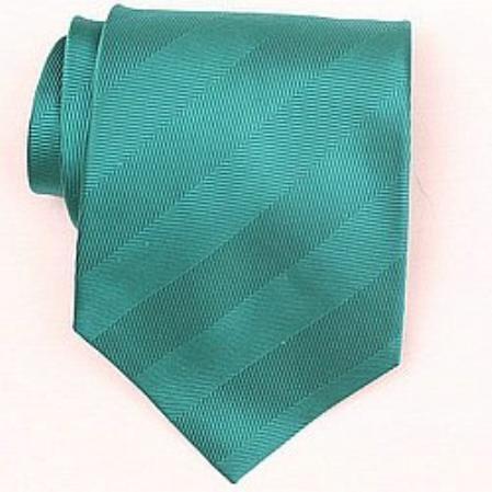 SKU#SW399A  Silk Green Woven Necktie $39