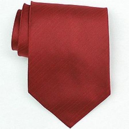 SKU#SW448A  Silk Red Woven Necktie $39