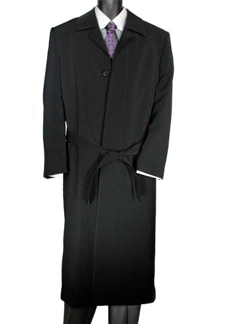 Aero Black Overcoat Touch