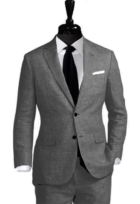 Alberto Nardoni Linen Suit Two Button Coming September/1/2017