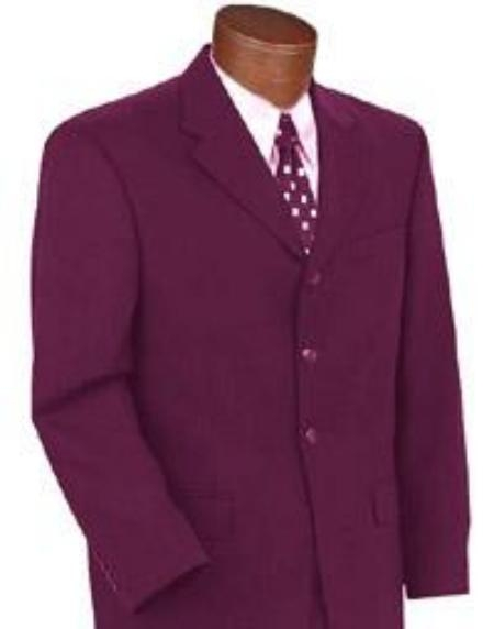 SKU# TBU792 Alberto Brand New Burgundy Color Suit $109