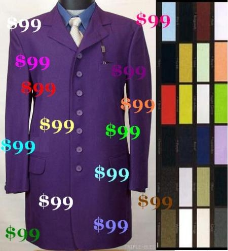 SKU# GGY832 $99 All Colros Solid Colors Beautiful Fashion Suits ( Cheaper Quality Compare to others)