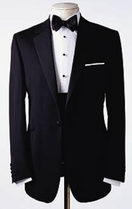 SKU# TP-09 Amazing Quality Beautiful Design  One 1 Button Tuxedo Super 150s premeier quality italian fabric Design $199