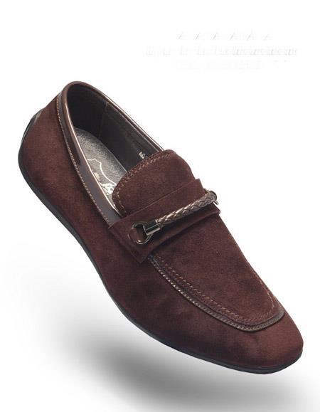 Slip On-Rob-Coffee-Shoes