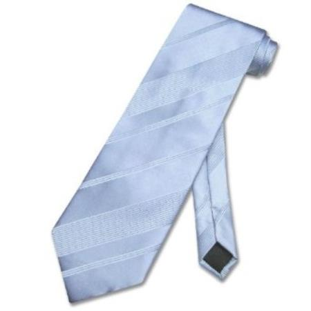 Baby Blue Woven Mens Design Neck Tie