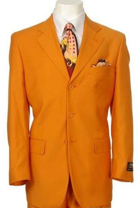 SKU# TNP787 Beautiful Mens Orange Fashion Dress With Nice Cut Smooth Soft Fabric $399
