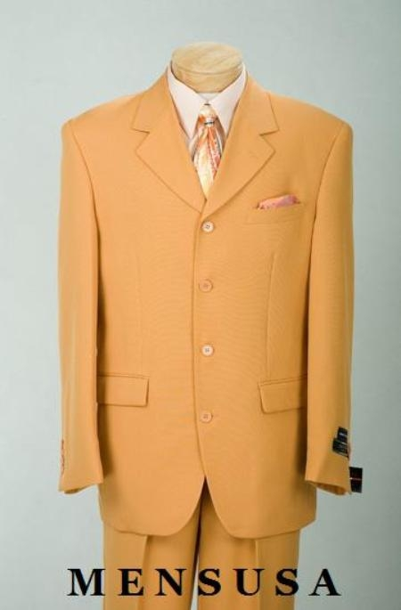 SKU#VNTN4PP Beautiful Mens Papaya~Orage Fashion Dress With Nice Cut Smooth Soft Fabric $139