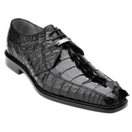 Colombo Hornback Crocodile Shoes