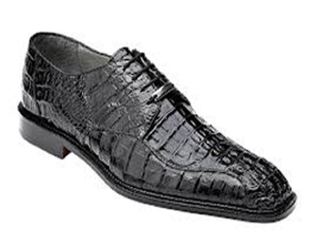 Belvedere Chapo Hornback Lace Up Shoes Black