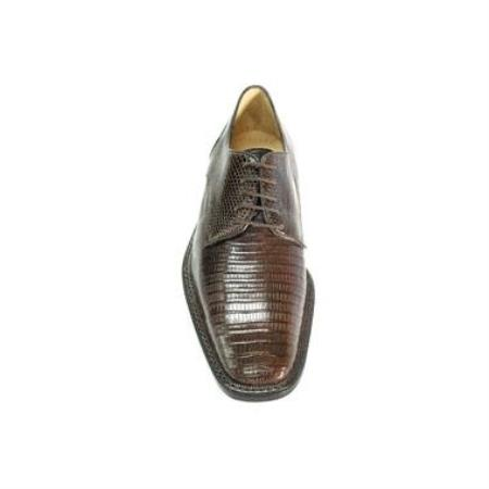 Olivo Lizard Shoes Brown