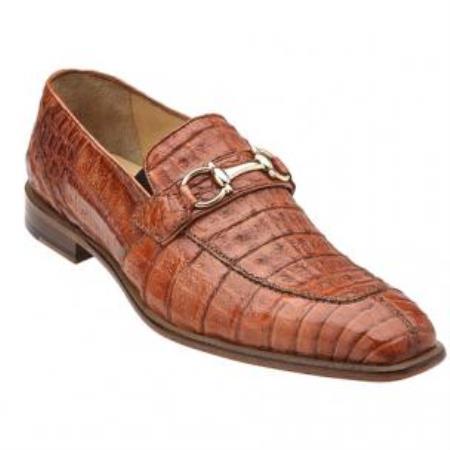 Mercuri Crocodile Bit loafer