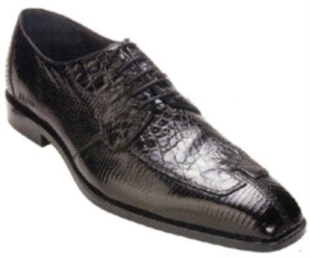 SKU#MJ222 Belvedere California Genuine Crocodile/Lizard Shoes $239