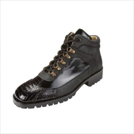 SKU#WM1997 Belvedere Capri Boots in Black $183