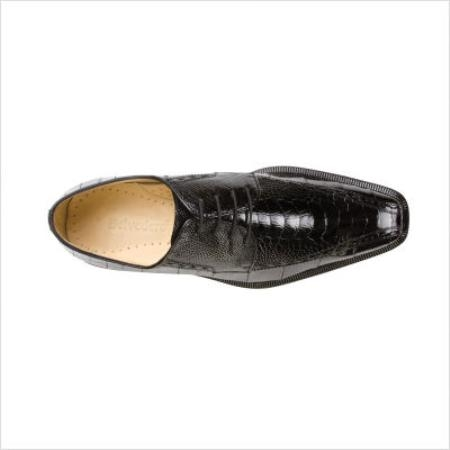 SKU#BL9666 Belvedere Cava Oxford in Black $258