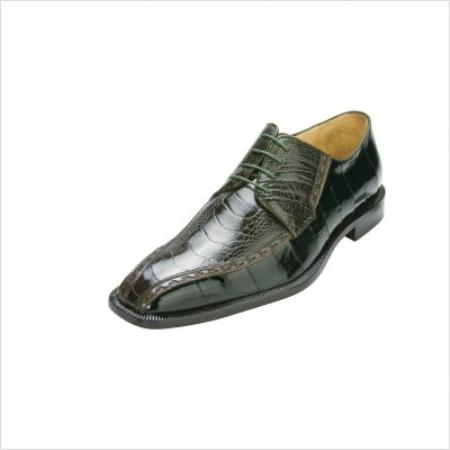 SKU#VD3091 Belvedere Cava Oxford in Emerald Green $258