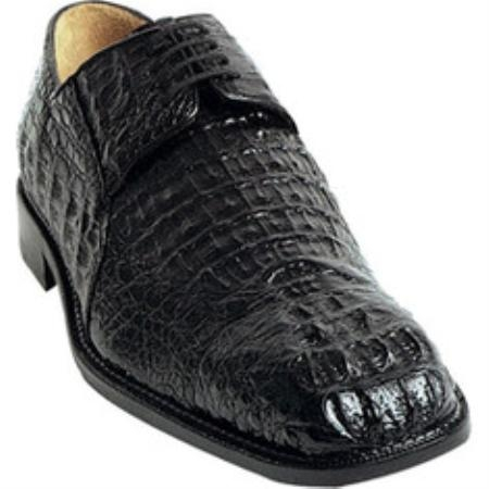 SKU#TJ639 Belvedere Coppola - Black Crocodile $464