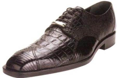 SKU#AW471 Belvedere Corni Genuine Hornback Crocodile/Lizard Shoes $289