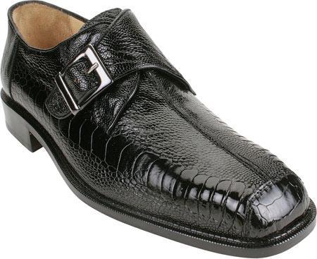 SKU#LZ649 Belvedere Dolce - Black Ostrich $425