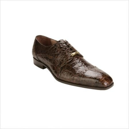 SKU#ZP30011 Belvedere Lupo Oxford in Brown $374