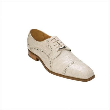 SKU#JP9001 Belvedere Lupo Oxford in Bone $374