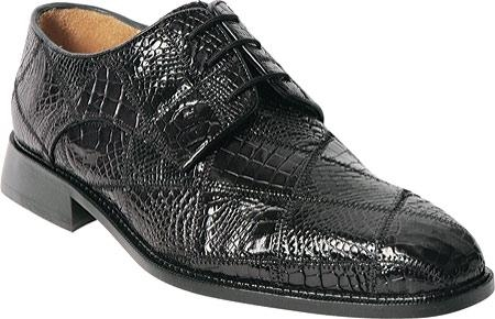 SKU#WE434 Belvedere Mario - Black Alligator