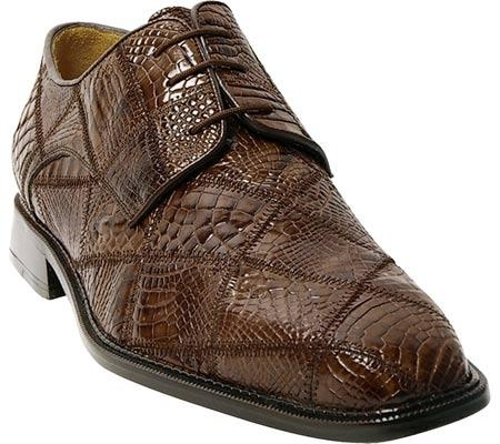SKU#ER534 Belvedere Mario - Brown Alligator