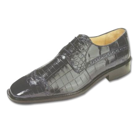 SKU#NY572 Belvedere Mela Nile Crocodile Shoes Navy $499