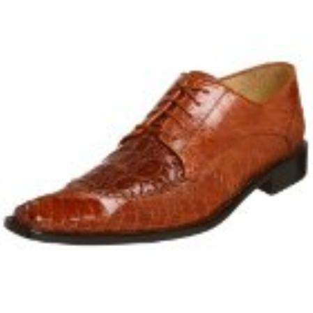 SKU#AK717 Belvedere Mens Antico Oxford Brown $420