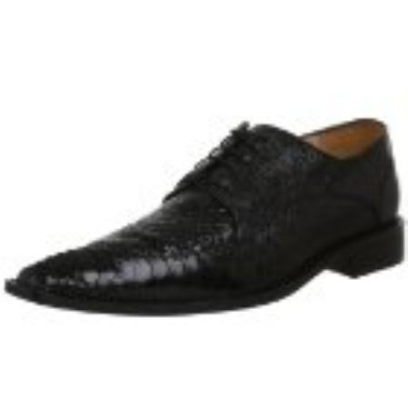 SKU#HA272 Belvedere Mens Antico Oxford Black $420
