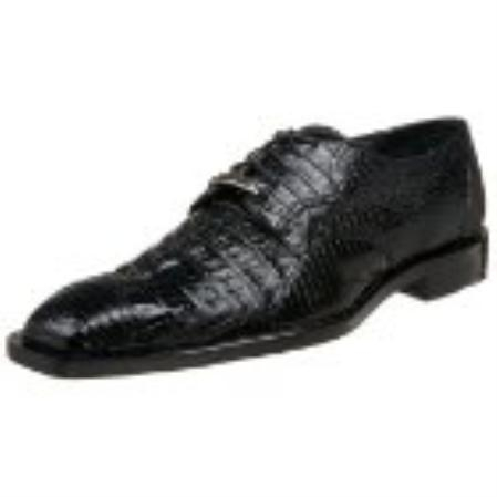 SKU#UM282 Belvedere Mens Corni Oxford Black $390