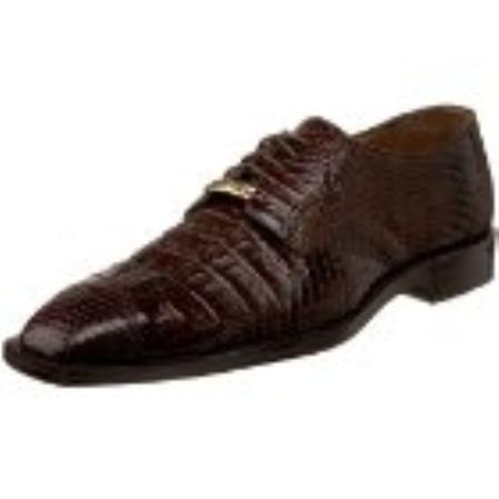 SKU#RP143 Belvedere Mens Corni Oxford Brown $390