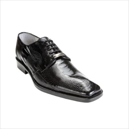 SKU#ZL1000 Belvedere Mens Filipo Oxford in Black $300