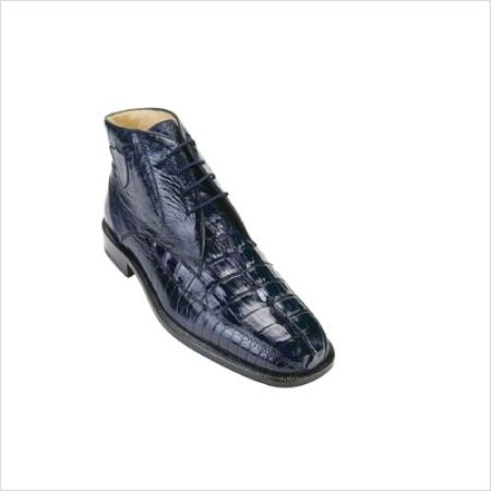 SKU#ZP3902 Belvedere Mens Rico Boots in Navy $461