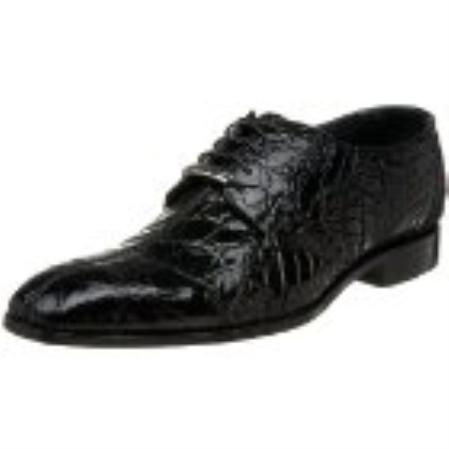 SKU#NS854 Belvedere Mens Stella Oxford Black $390