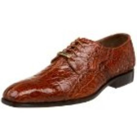 SKU#NK834 Belvedere Mens Stella Oxford Brandy $390