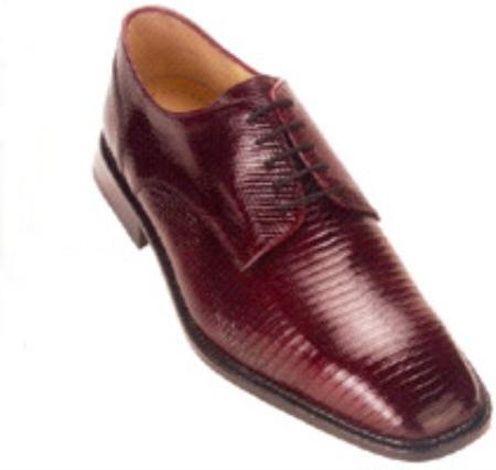 SKU#AH234 Belvedere Olivo All-Over Genuine Lizard Shoes $219