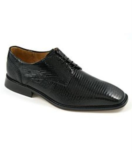 SKU# AII703 Belvedere-Olivo-genuine lizard upper fully leather-lined interior cushioned leather insole leather
