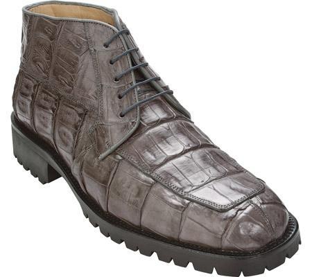 SKU#UC684 Belvedere Ugo - Gray Crocodile $494