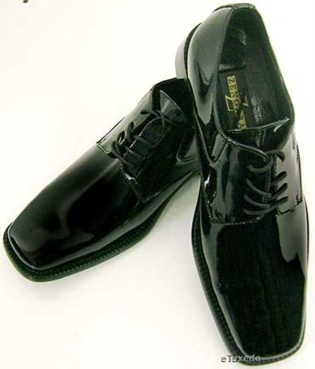 SKU#Zengara Z30028 Best Selected Tuxedo Shoes $69