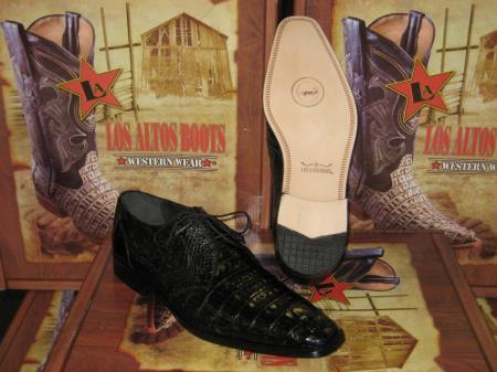 Genuine Authentic Black caiman
